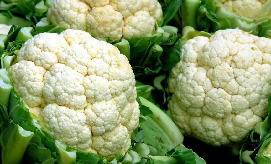 Beneficios del coliflor