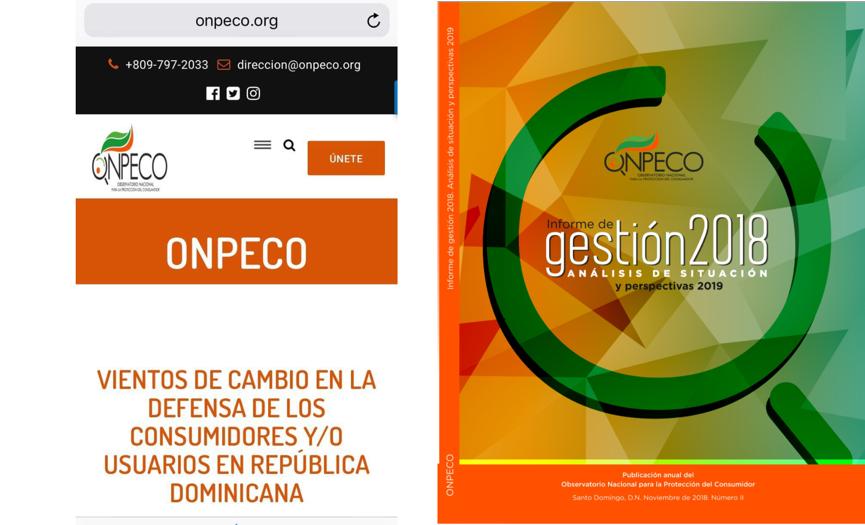 Acto de lanzamiento página web y revista memoria anual 2018 ONPECO