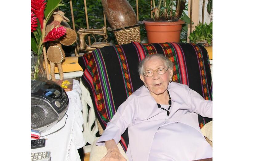 Gracita Barinas, 104 años y contando
