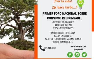 Primer Foro Nacional de Consumo Responsable