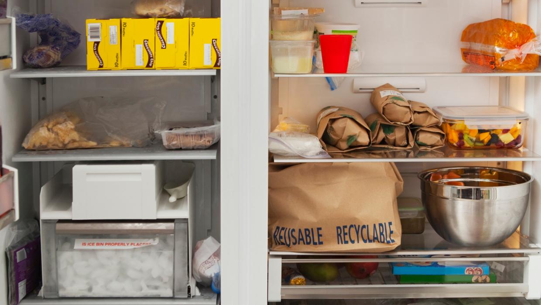 Reglas para guardar la sobra de comida en la nevera
