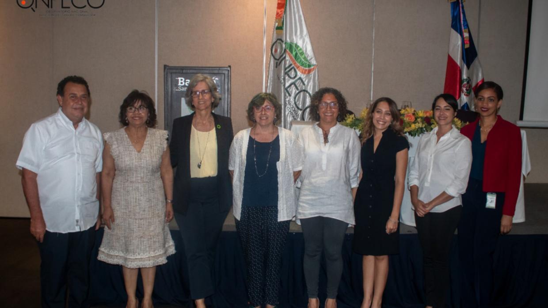 Discurso de bienvenida por parte de nuestra directora, Altagracia Paulino, en el Primer Foro Nacional sobre Consumo Responsable y Sustentable