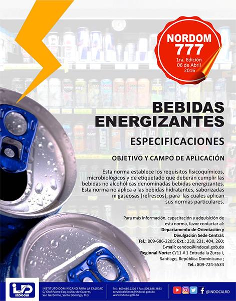 NORDOM-777 Bebidas energizantes