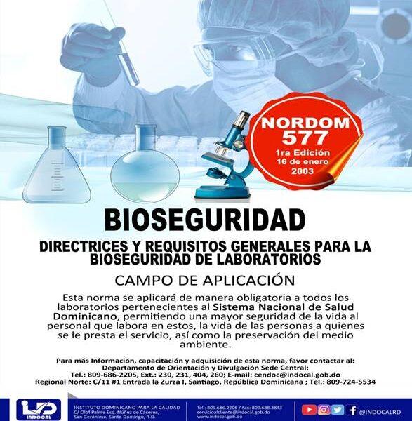 NORDOM-577 Bioseguridad